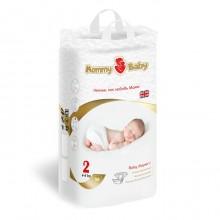 Подгузники детские одноразовые Mommy Baby (размер 2),  4-8 кг, 56 шт