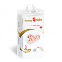 Подгузники детские одноразовые Mommy Baby (размер 3), 6-11 кг,  48 шт.